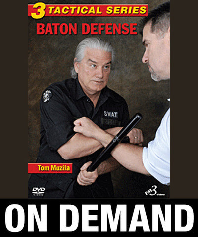 Tactical Series Vol 3 Baton Defense by Tom Muzila (On Demand) - Budovideos
