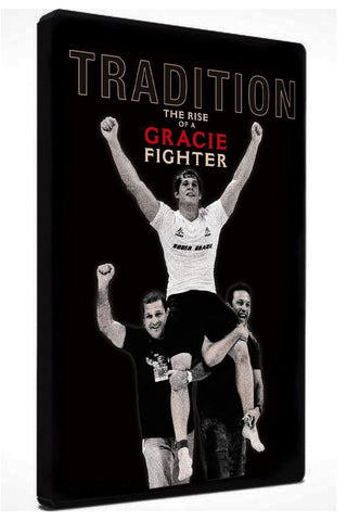 Tradition, The Rise of a Gracie Fighter DVD (Roger Gracie Documentary)