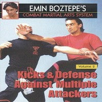 Combat Martial Arts 3 DVD Set with Emin Boztepe