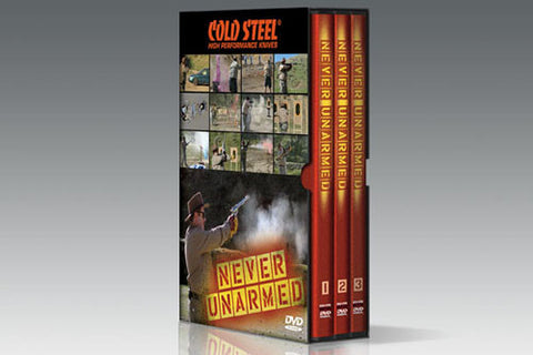 Never Unarmed 3 DVD Set by Lynn Thompson - Budovideos