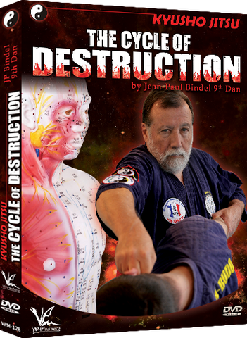 Kyusho-Jitsu - Cycle of Destruction DVD by Jean Paul Bindel - Budovideos Inc