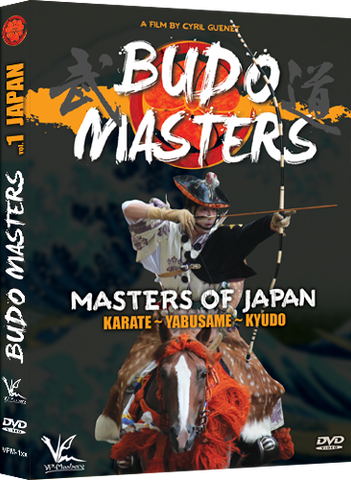 Budo Masters Vol 1 Masters of Japan DVD By Cyril Guenet - Budovideos Inc