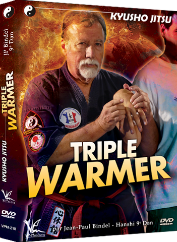 Kyusho Jitsu Triple Warmer DVD by Jean Paul Bindel - Budovideos Inc