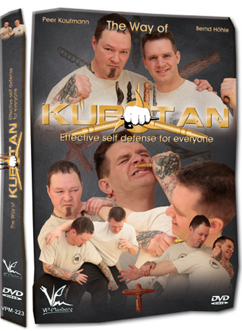The Way of Kubotan - Effective Self-Defense for Everyone DVD - Budovideos Inc