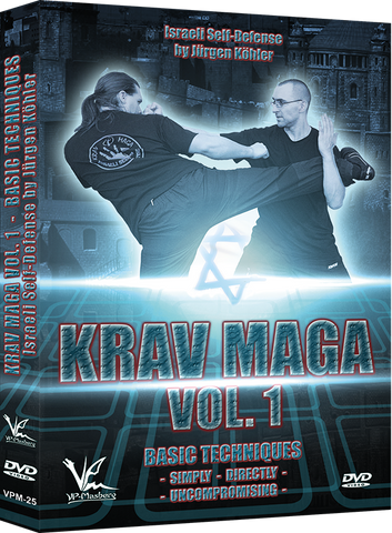 Krav Maga Israeli Self-Defense DVD 1 Basic Techniques - Budovideos Inc