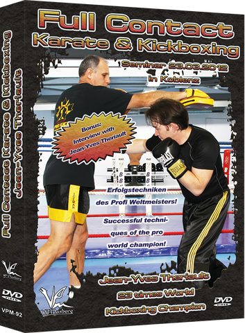 Full Contact Karate & Kickboxing Seminar DVD by Jean-Yves Theriault - Budovideos Inc