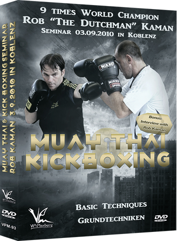 Muay Thai & Kickboxing Seminar: Basic Techniques DVD with Rob Kaman - Budovideos Inc