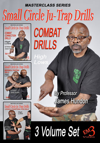 Small Circle Ju-Trap Drills 3 DVD Set by James Hundon