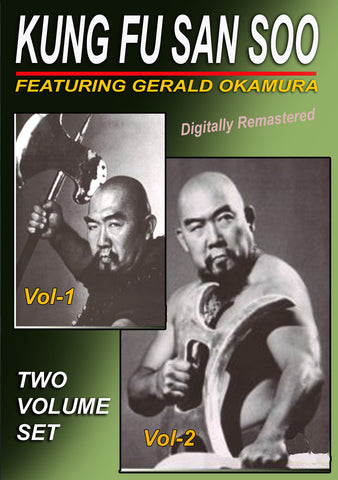 Chinese Kung Fu San Soo 2 Volume DVD Set by Gerald Okamura - Budovideos
