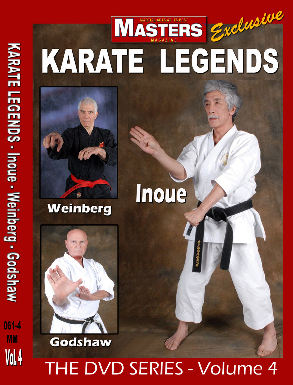 Karate Legends DVD 4 with Weinberg, Godshaw & Inoue