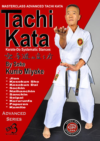Tachi Kata: Karate Do Systemetic Stances DVD by Kunio Miyake