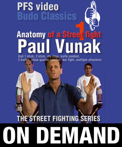 Anatomy of a Street Fight Vol 1 with Paul Vunak (On Demand) - Budovideos