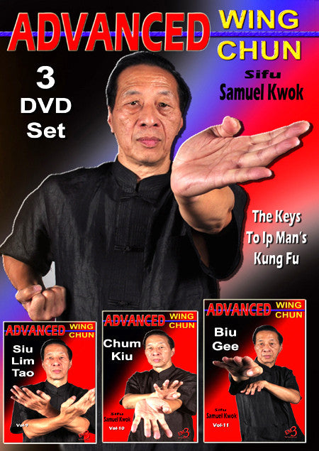 Advanced Wing Chun 3 DVD Set with Samuel Kwok