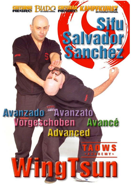 DVD Cover - Wing Tsun Advanced TAOWS Academy DVD with Salvador Sanchez