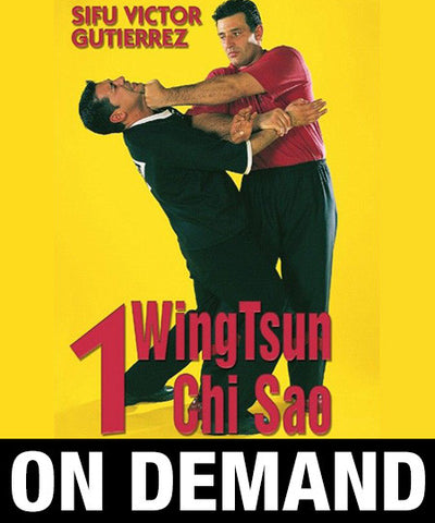 WingTsun Chi Sao Vol1 by Victor Gutierrez (On Demand) - Budovideos