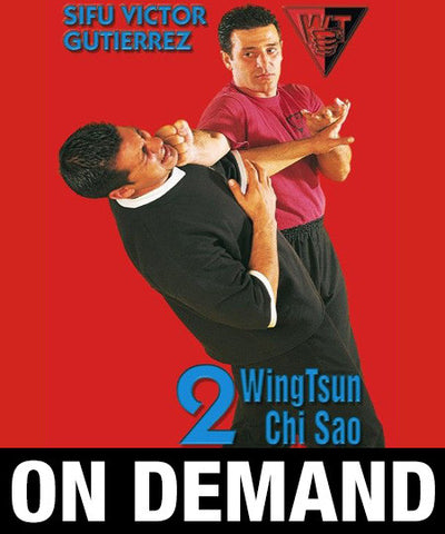 WingTsun Chi Sao Vol2 by Victor Gutierrez (On Demand) - Budovideos