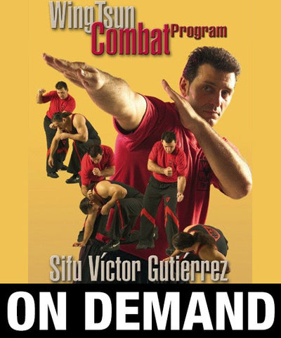 WingTsun Combat Program by Victor Gutierrez (On Demand) - Budovideos
