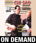 Wing Chun CHI SAO Seminar Vol 1 with Samuel Kwok (On Demand) - Budovideos