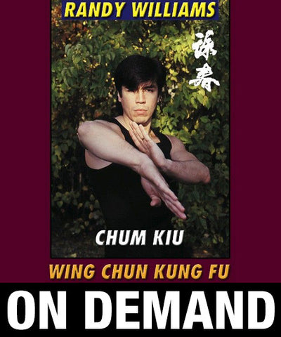 Wing Chun Kung Fu Chum Kiu by Randy Williams (On Demand) - Budovideos