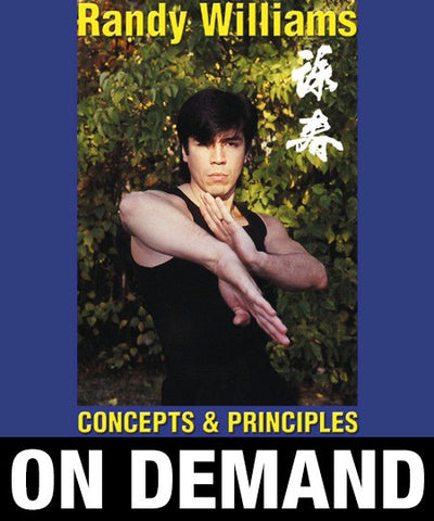 Wing Chun Kung Fu Concepts and priciples by Randy Williams (On Demand) - Budovideos