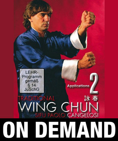 Wing Chun Traditional vol 2 by Paolo Cangelosi (On Demand) - Budovideos