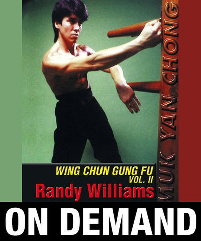 Wing Chun Wooden Dummy Form Part 2 by Randy Williams (On Demand) - Budovideos