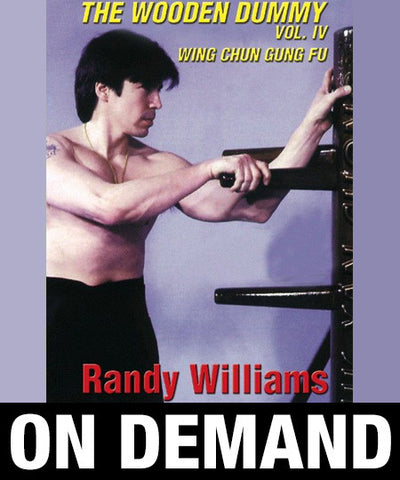 Wing Chun Wooden Dummy Form Part 4 by Randy Williams (On Demand) - Budovideos