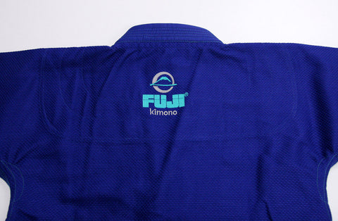 Back of Jacket - Women's Blue Blossom BJJ Gi by Fuji