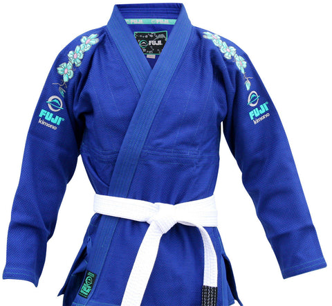 Jacket - Women's Blue Blossom BJJ Gi by Fuji