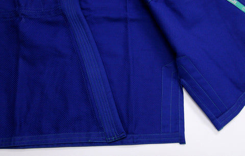 Inside Skirt - Women's Blue Blossom BJJ Gi by Fuji