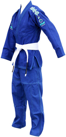 Left - Women's Blue Blossom BJJ Gi by Fuji