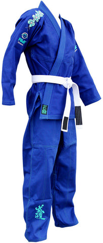 Right - Women's Blue Blossom BJJ Gi by Fuji