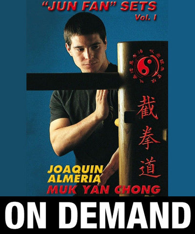 Wooden Dummy JKD Jun Fan Sets by Joaquin Almeria (On Demand)