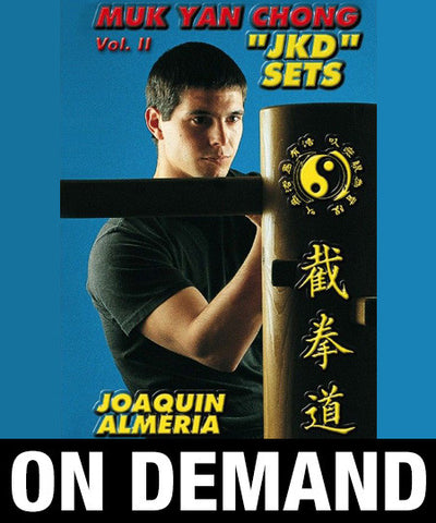 Wooden Dummy Jeet Kune Do Sets by Joaquin Almeria (On Demand)
