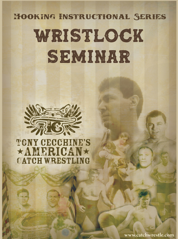 The Wristlock Seminar 2 DVD Set with Tony Cecchine - Budovideos