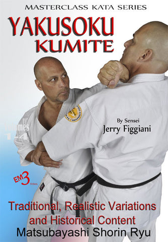 DVD Cover - Yakusoku Kumite DVD by Jerry Figgiani