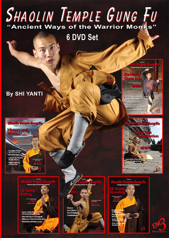 Shaolin Temple Gung Fu 6 DVD Set by Shi Yanti
