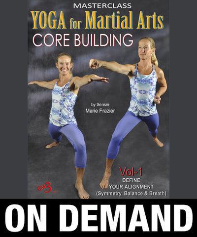 Yoga for Martial Arts Vol 1 by Marie Frazier (On Demand) - Budovideos