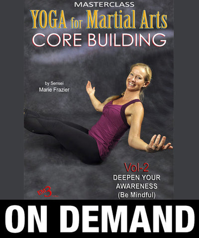 Yoga for Martial Arts Vol 2 by Marie Frazier (On Demand) - Budovideos