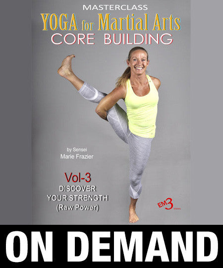 Yoga for Martial Arts Vol 3 by Marie Frazier (On Demand) - Budovideos