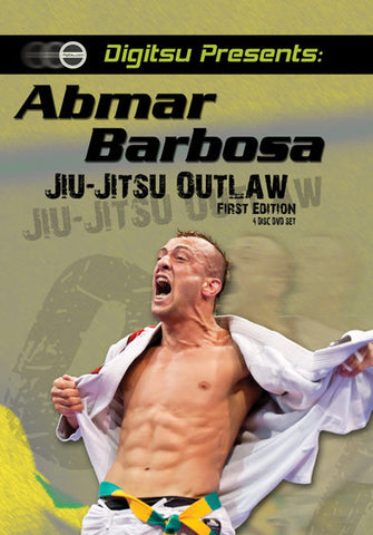 Jiu-Jitsu Outlaw 4 DVD Set with Abmar Barbosa - Budovideos