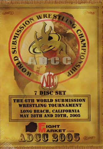 2005 ADCC Complete 7 DVD Set - Budovideos Inc