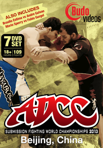 ADCC 2013 Complete 7 DVD Set - Budovideos