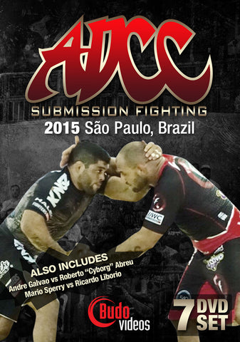 ADCC 2015 Complete 7 DVD Set - Budovideos