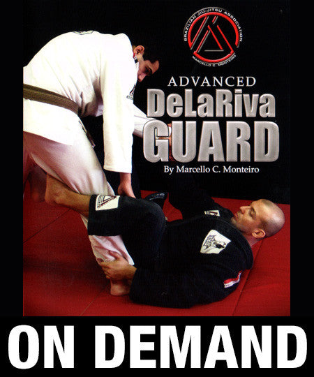 Advanced De La Riva Guard with Marcello Monteiro (On Demand) - Budovideos