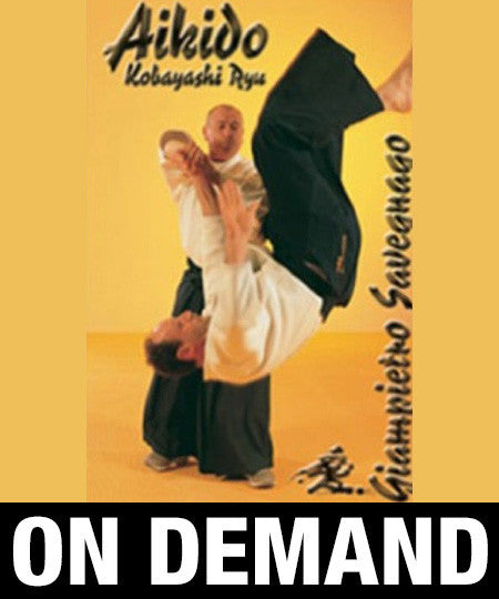 Aikido Kobayashi Ryu with Giampietro Savegnago (On Demand)