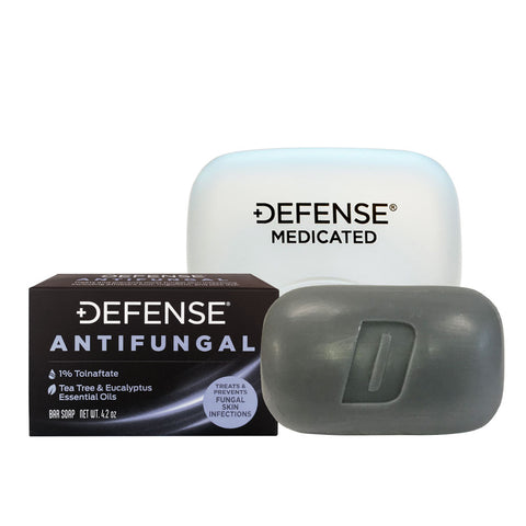 Antifungal Medicated Bar Soap with Case by Defense Soap - Budovideos