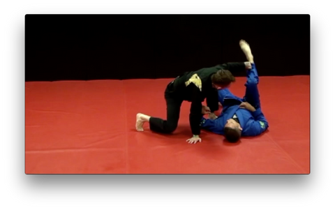AP De La Riva Guard with Kristian Woodmansee (On Demand) - Budovideos