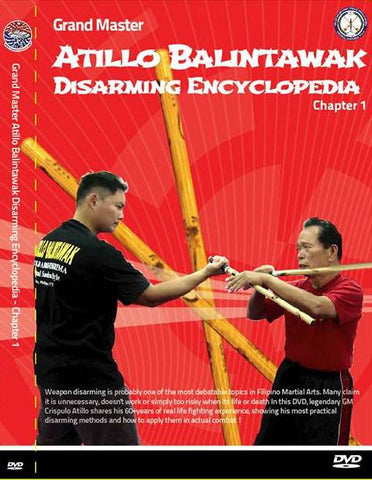 Atillo Balintawak Disarming Encyclopedia DVD Chapter 1