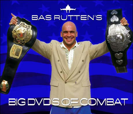 Bas Rutten's BIG DVDs of Combat 7 DVD Set - Budovideos